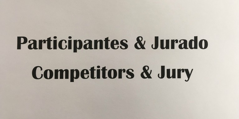 Competitors and Jury
